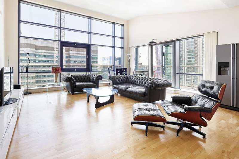 2 Bedrooms Apartment Flat for sale in Discovery Dock East, Canary Wharf, E14