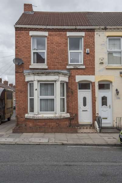 3 Bedrooms End Of Terrace House for sale in Molyneux Road, Liverpool, Merseyside, L6