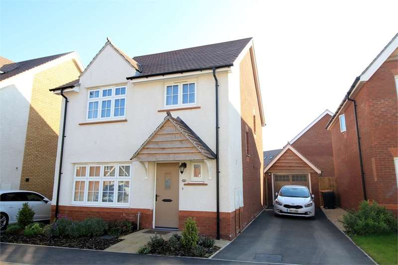 4 Bedrooms Detached House for sale in Excalibur Drive, NEWPORT, NP20
