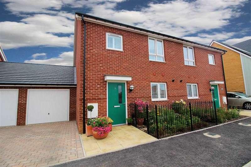 3 Bedrooms Semi Detached House for sale in Heathland Way, Grays