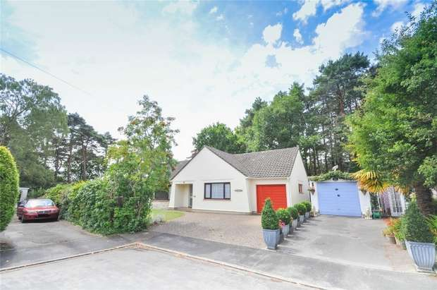 5 Bedrooms Detached Bungalow for sale in Quarry Close, WIMBORNE, Dorset