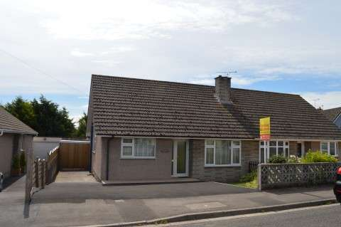 2 Bedrooms Semi Detached Bungalow for sale in Cherrywood Road, Worle, Weston-Super-Mare