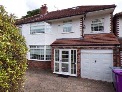 4 Bedrooms Detached House for sale in Hunts Cross Avenue, Woolton, Liverpool, Merseyside, L25