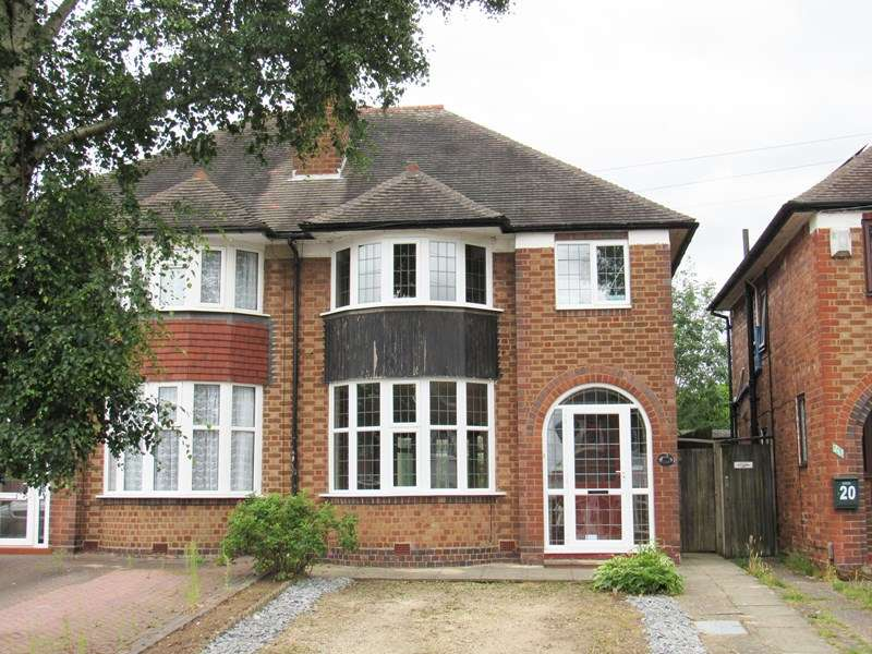 3 Bedrooms Semi Detached House for sale in Butler Road, Solihull