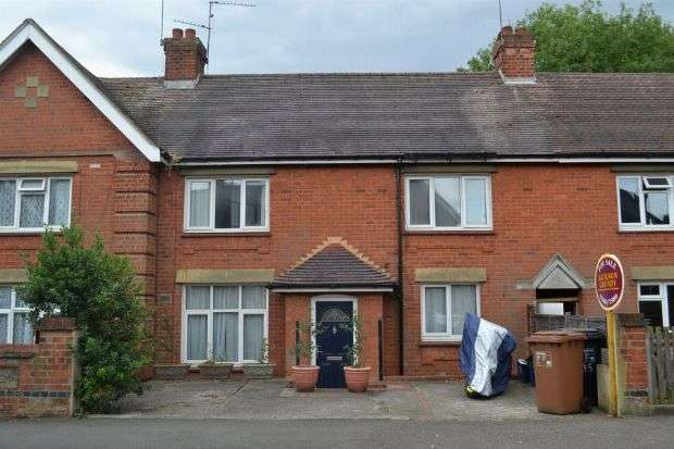 2 Bedrooms Terraced House for sale in Raeburn Road, Kingsley, Northampton NN2 7ET