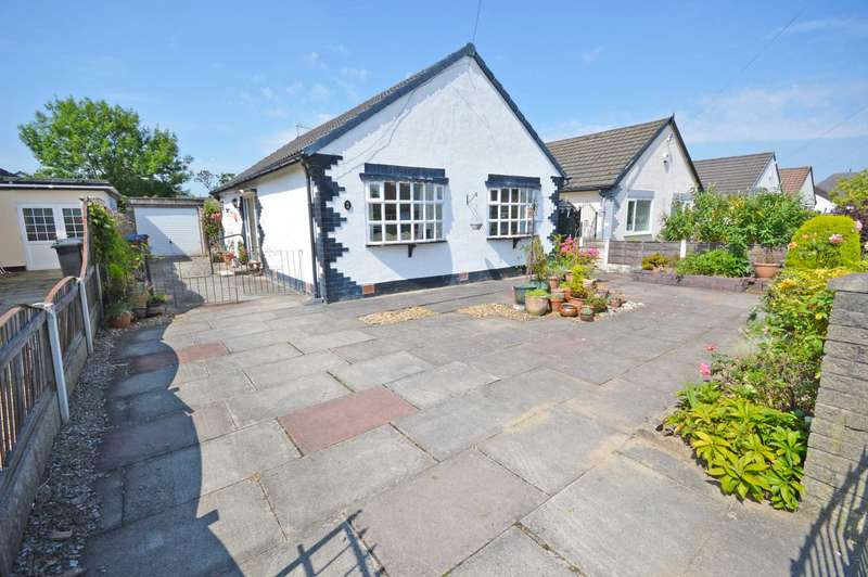 2 Bedrooms Detached Bungalow for sale in Conway Road, Cheadle Hulme