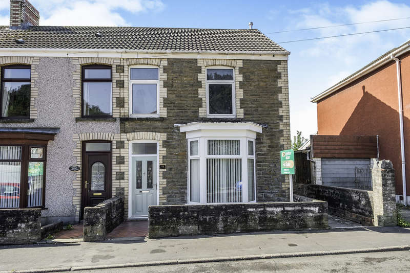 2 Bedrooms Semi Detached House for sale in Dynevor Road, Skewen, Neath