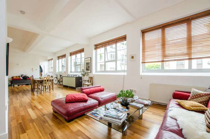 Studio Flat for sale in Sunlight Square, Bethnal Green, E2
