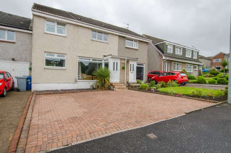 3 Bedrooms Semi Detached House for sale in Tanzieknowe Road, Cambuslang, South Lanarkshire, G72