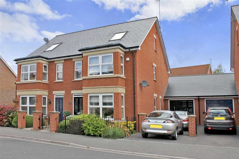 4 Bedrooms Semi Detached House for sale in Oxford Road, Horsham, West Sussex