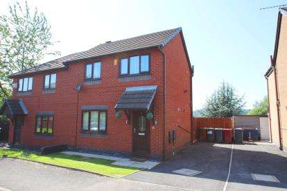 2 Bedrooms Semi Detached House for sale in Highfield Gardens, Blackburn, Lancashire, BB2