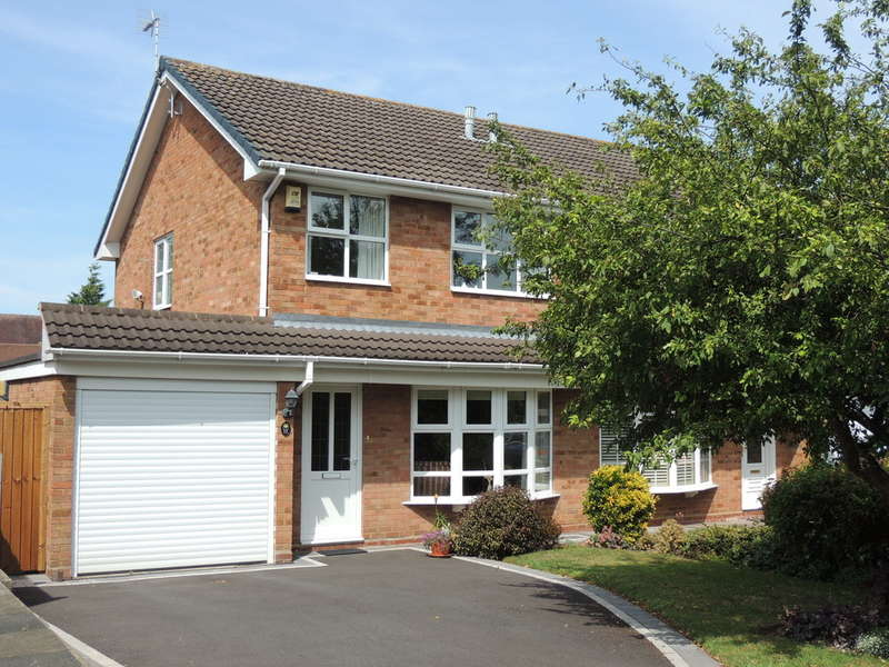 3 Bedrooms Semi Detached House for sale in Ullenhall Road, Knowle, Solihull