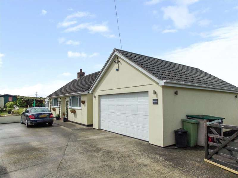 2 Bedrooms Detached Bungalow for sale in Marshgate, Camelford, Cornwall