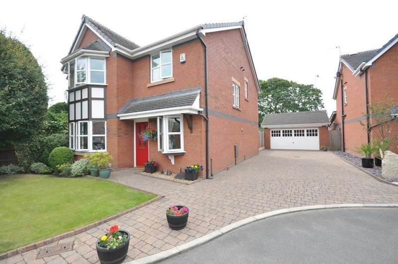 4 Bedrooms Detached House for sale in The Ferns, Kirkham, Preston, Lancashire, PR4 2BF