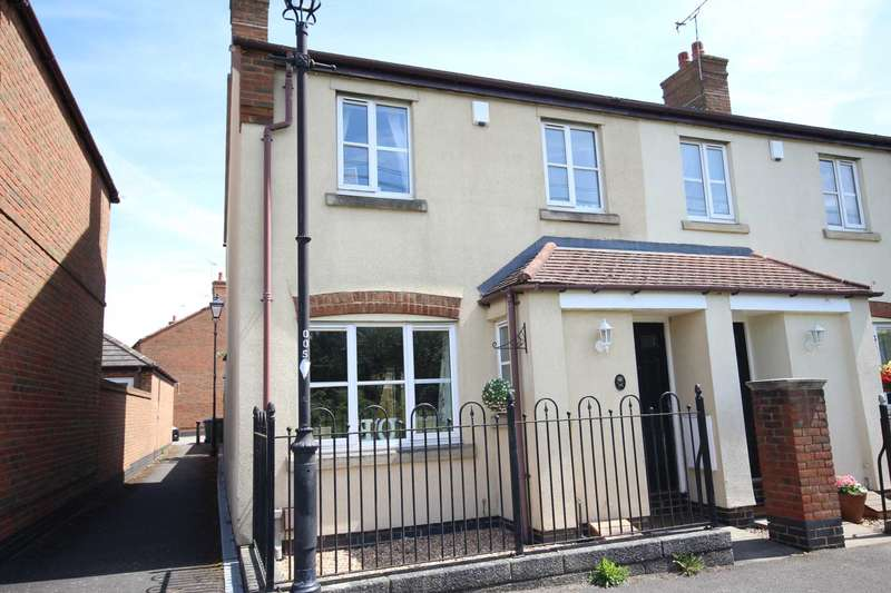 3 Bedrooms End Of Terrace House for sale in Rickman Walk, Fairford Leys