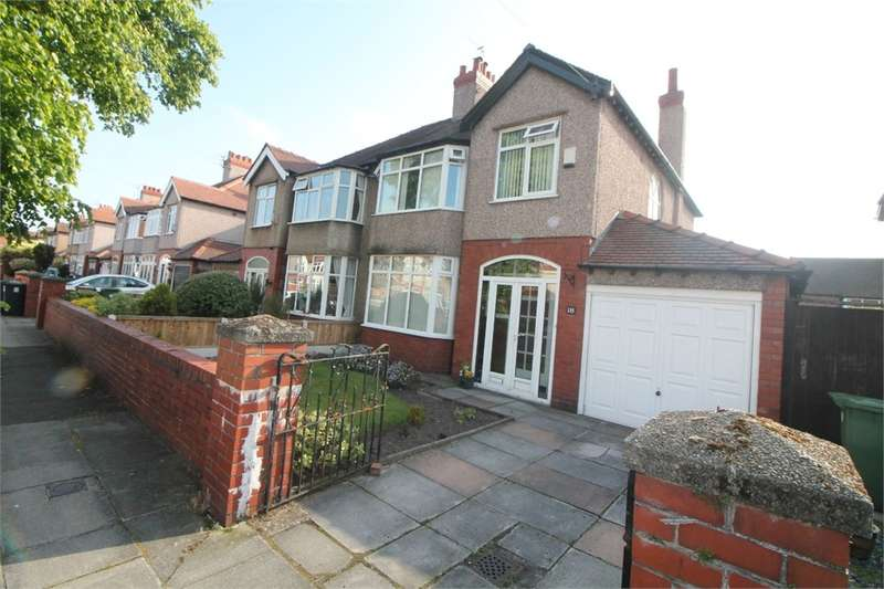 3 Bedrooms Semi Detached House for sale in Brentwood Avenue, Crosby, LIVERPOOL, Merseyside