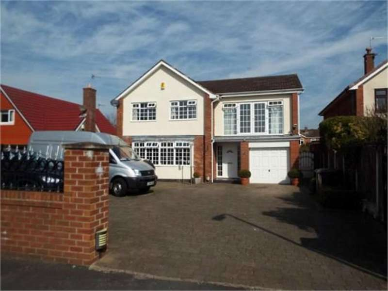 5 Bedrooms Detached House for sale in Bushbys Lane, Formby, Merseyside