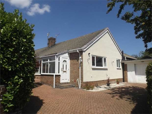 3 Bedrooms Semi Detached Bungalow for sale in Tollesby Lane, Marton-in-Cleveland, Middlesbrough, North Yorkshire