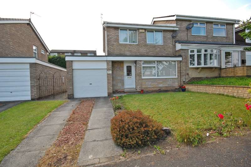3 Bedrooms Semi Detached House for sale in Cotherstone Road, Newton Hall, Durham