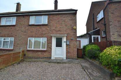 2 Bedrooms Semi Detached House for sale in Windsor Road, Wellingborough, Northamptonshire