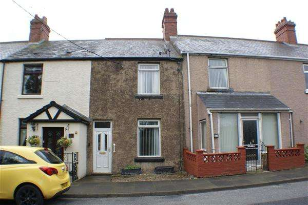 2 Bedrooms Terraced House for sale in Bradley Cottages, Leadgate, Consett