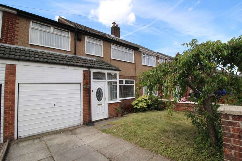 4 Bedrooms Semi Detached House for sale in Vining Road, Prescot, L35