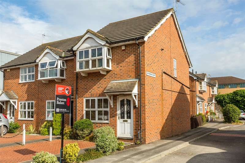 2 Bedrooms End Of Terrace House for sale in Catherine Court, York, YO10