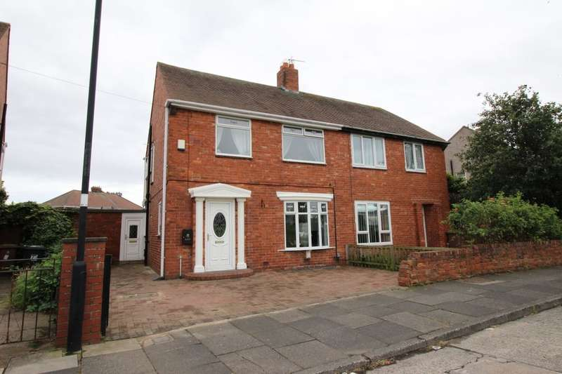 3 Bedrooms Semi Detached House for sale in Biddleston Crescent, North Shields, NE29