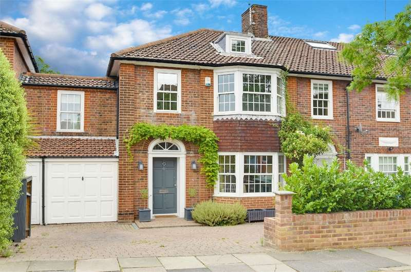 4 Bedrooms Terraced House for sale in Grosvenor Road, Muswell Hill, London