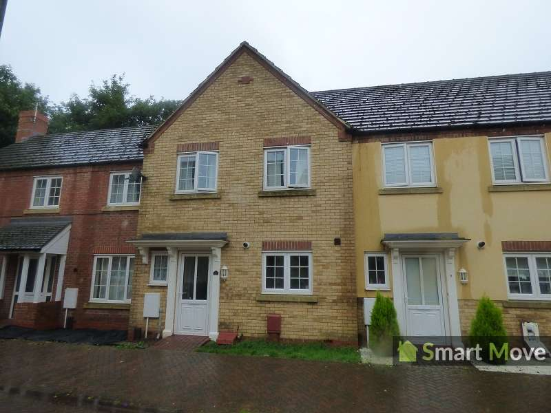 3 Bedrooms Terraced House for sale in Tycho Close, Spalding , Lincolnshire. PE12 9PY