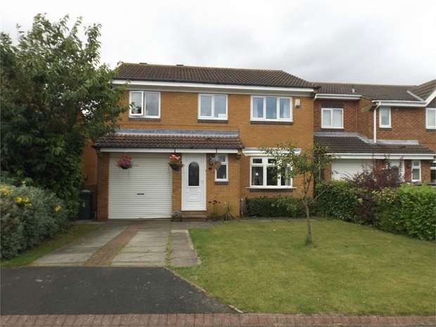 4 Bedrooms Detached House for sale in Mingary Close, East Rainton, Houghton le Spring, Tyne and Wear