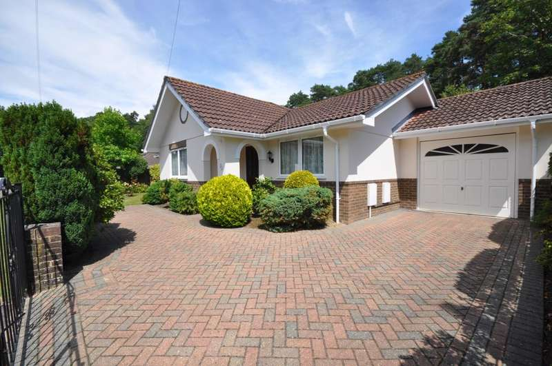 3 Bedrooms Detached Bungalow for sale in Ashley Heath, Ringwood, BH24 2EP