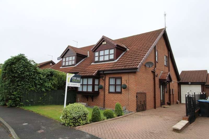 2 Bedrooms Detached Bungalow for sale in Harwood Court, Trimdon Grange