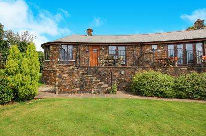 2 Bedrooms End Of Terrace House for sale in Penpillick, Par, Cornwall