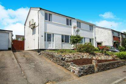 3 Bedrooms Semi Detached House for sale in Penwithick, St. Austell, Cornwall