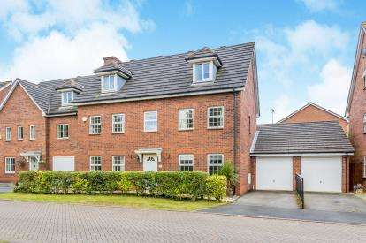 5 Bedrooms Detached House for sale in Hallams Drive, Nantwich, Cheshire