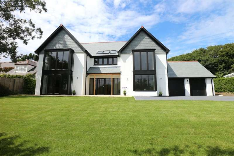 5 Bedrooms Detached House for sale in Mount Whistle Road, Tehidy, Cornwall