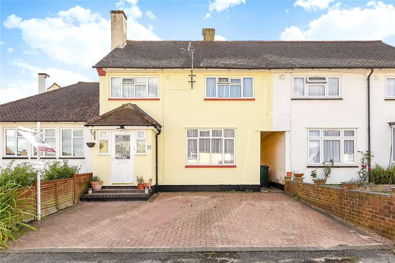 3 Bedrooms Terraced House for sale in Hindhead Green, Watford, WD19