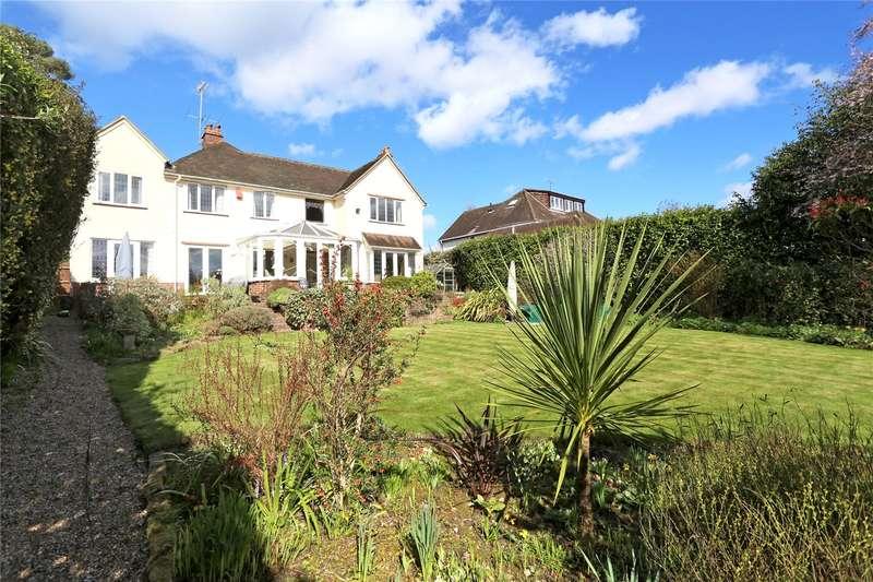 4 Bedrooms Detached House for sale in Echo Barn Lane, Wrecclesham, Farnham, Surrey, GU10
