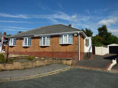 2 Bedrooms Bungalow for sale in Foxdale Grove, Preston, Lancashire, PR1