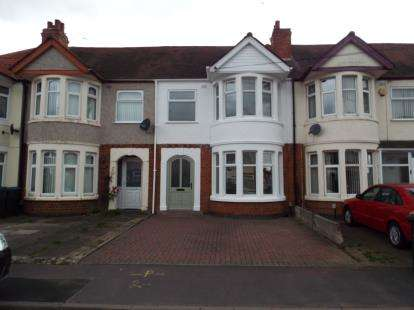 3 Bedrooms Terraced House for sale in Addison Road, Coventry, West Midlands
