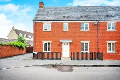 3 Bedrooms Semi Detached House for sale in Kopernik Road, Haydon End, Wiltshire, Swindon