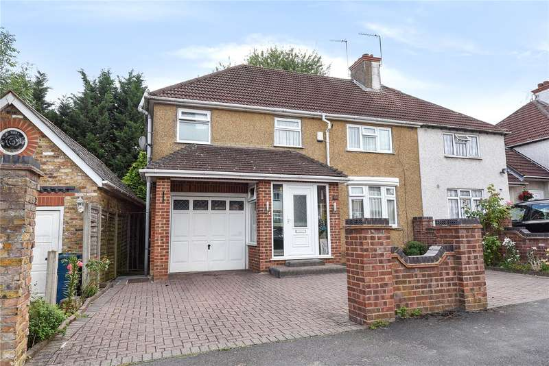 4 Bedrooms End Of Terrace House for sale in Greenway, Pinner, Middlesex, HA5