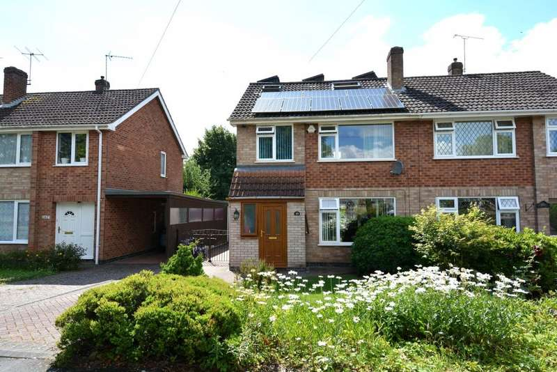 4 Bedrooms Semi Detached House for sale in Clinton Lane,Kenilworth,Warwickshire CV8 1BA
