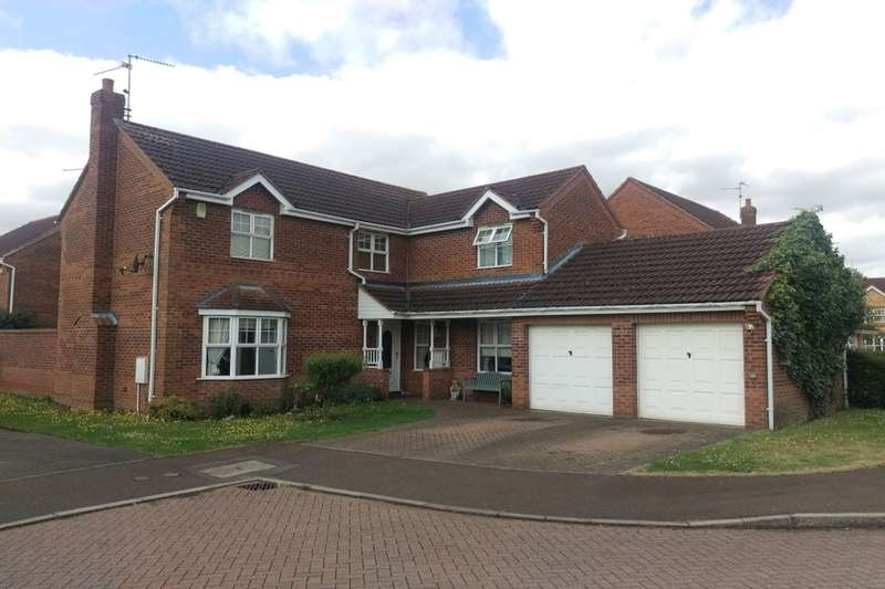 4 Bedrooms Detached House for sale in Barkston Drive, PETERBOROUGH, PE1