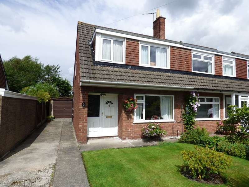 3 Bedrooms Semi Detached House for sale in Warwick Drive, Hazel Grove, Stockport