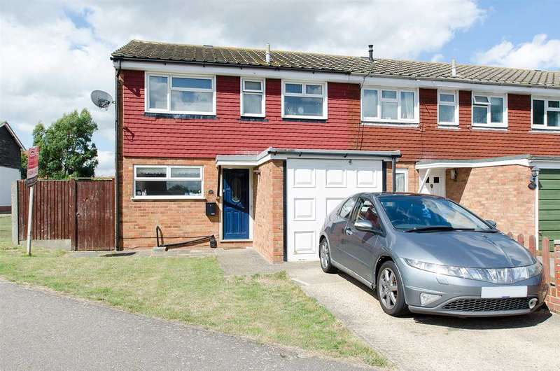 3 Bedrooms Semi Detached House for sale in Evergreen Close, Iwade, Sittingbourne