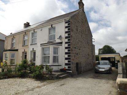 4 Bedrooms Semi Detached House for sale in Bugle, St. Austell, Cornwall