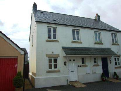 2 Bedrooms Semi Detached House for sale in Camelford, Cornwall