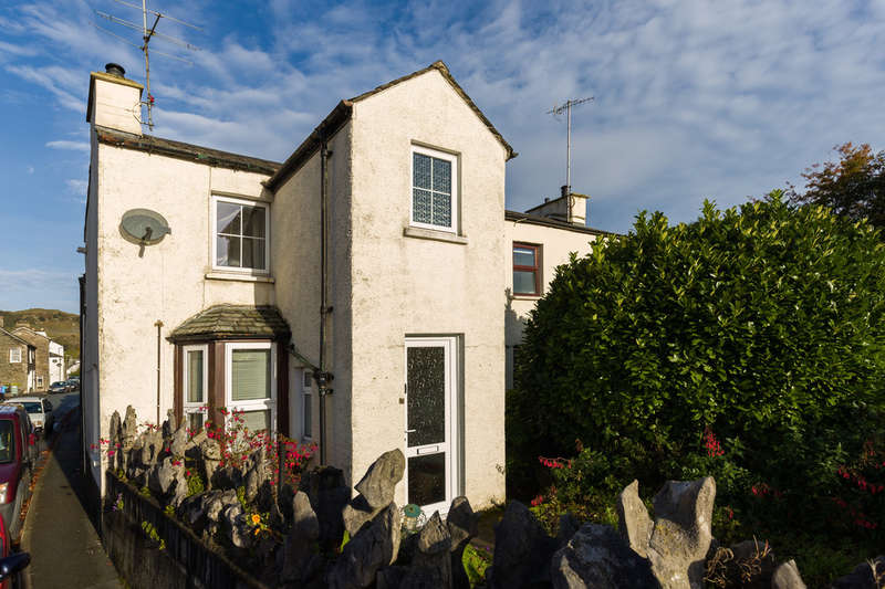 2 Bedrooms End Of Terrace House for sale in 85 Main Street, Staveley, Kendal, Cumbria LA8 9LN